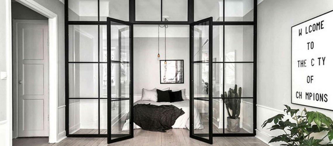 Drzwi loftowe-industrialne