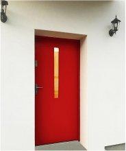 czerwone drzwi zewnętrzne kamadoor