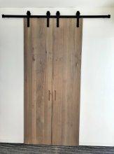 drzwi rozsuwane drewniane 4a