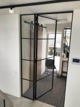 drzwi szklane loftowe producent