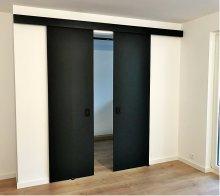 drzwi przesuwne szklane industrialne producent